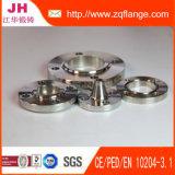La soudure d'acier doux de JIS 10k Plat la bride de FF