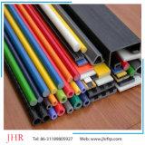 Profils FRP en fibre de verre en usine 75 * 75 * 6 profilés en tube carré