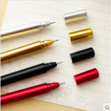 In het groot MetaalBetekenis van de Creatieve Pen van de Handtekening