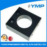 OEM/ODM aluminio negro anodizado de alta precisión CNC Servicio blanqueado