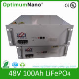 Batteria di 48V connessa vite all'ingrosso 100ah LiFePO4 per il carrello elevatore