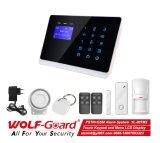 A PSTN+GSM Alarme de Segurança Inicial do Sistema de Alarme