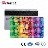 Scheda astuta del membro del PVC RFID con la banda magnetica
