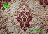 Tissu en rideau à effet de rides jacquard en polyester (BS1305)