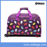 Sac de voyage 600d Polyester Cheap Duffle School Trolley