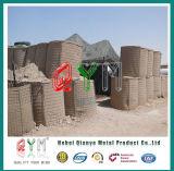 Barriere difensive/barriere di Hesco/barriera militare di Hesco della parete della sabbia