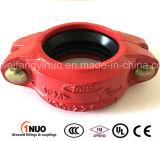 Iron dúctil Grooved Flexible Coupling con FM/UL/Ce-1nuo Brand