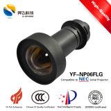 Baja distorsión óptica Compatible con lentes de proyección de diversos proyectores NEC