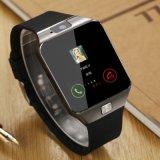 사진기, Ios 인조 인간 전화 지원 다중 언어를 위한 Bluetooth 손목 시계 SIM 카드 Smartwatch를 가진 2017 새로운 지능적인 시계 Dz09