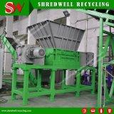 De dubbele Ontvezelmachine van de Schacht voor Recycling van de Fles/van de Trommel/van de Emmer van het Afval het Plastic