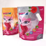 Zipper Bag Packaging Lettiera con manico