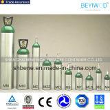Cilindro de oxigênio médico com material de alumínio