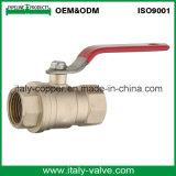 Haut de page personnalisé de qualité gaz forgé clapet à bille en laiton (AV1060)