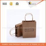 Sacs à provisions bon marché promotionnels de logo de qualité pour l'emballage