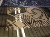 Plaque laminée à froid d'acier inoxydable pour la décoration (noir de numéro 8)