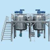 El tanque de mezcla del emulsor cosmético líquido del ungüento de la crema del vacío del acero inoxidable