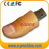 PVC Finger USB Flash Drive, PVC doux Pendrive Funny USB Flash Disk 16 Go USB