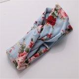 Capelli elastici coreani della gomma di Hairwrap dei Bandanas delle stampe floreali di Headwrap del turbante di Haimeikang per gli accessori dei capelli delle ragazze per le donne