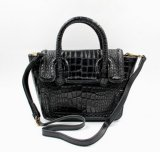 最も新しくチャーミングなスネークスキンの女性袋の方法オリジナルのハンドバッグ(LDO-01654)