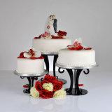 Présentoir acrylique fait sur commande de gâteau d'usine à vendre