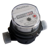 Einzelner Düsentrockner-Typ Plastikrumpf Soem-Wasser Meter/Manufacturer