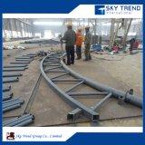 Structure en acier de grande portée de l'espace de l'entrepôt de châssis