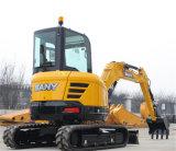 Sany Sy50 машинное оборудование конструкции землечерпалки малого Crawler 5 тонн гидровлическое