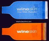De opnieuw te gebruiken Bel Opgevulde Koelere Zak van het Ijs van de Zak van de Fles van de Wijn van de Reiziger
