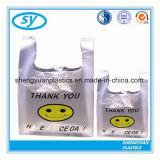 Sac à provisions en plastique de traitement bon marché de Flexiloop
