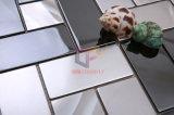 304 Negro Mix Mosaico de acero inoxidable de la plata del azulejo (CFM908)