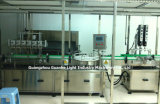 Machine automatique de remplissage de bouteilles de liquide avec plafonnement de l'emballage d'étiquetage