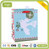 Bolsa de papel diaria del regalo del arte de las necesidades del azul de la paloma
