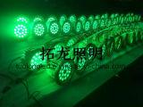 高い発電36W DMX RGB LEDの洪水ライト丸型DC24V 36W多彩なLEDの洪水ライト