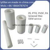 Elemento comprimido aglomerado do filtro em caixa PE/PTFE/PP de ar da alta qualidade