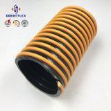 Graues Weiß Belüftung-flexibler Luftkanal-Ventilations-Leitung-Plastikschlauch