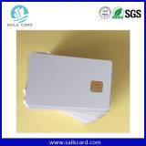 고품질 Cr80 85.6*54mm 인쇄할 수 있는 접촉 IC 카드
