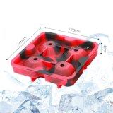 뚜껑, Bella 싸구려 포도주 BPA 자유로운 쌓을수 있는 쉬운 방출 얼음을%s 가진 Diamond-Shaped 실리콘 아이스 큐브 쟁반은 얼음을%s 다기능 저장 그릇을 주조한다,