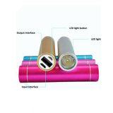 Caricatore promozionale Colourful 2600mAh Powerbank del telefono dei campioni liberi con il marchio