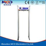 Seguridad avanzada de pantalla grande arco detector de metales en China/ Marco de la puerta resistente al agua para la venta de detector de metales