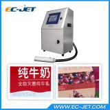 Verfalldatum-Drucken auf Flaschen-kontinuierlichem Tintenstrahl-Drucker (EC-JET1000)