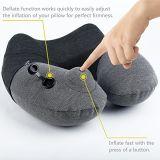 Pista del soporte de la almohadilla del cuello de la U-Dimensión de una variable/el viajar y aeroplano inflables de Neckfor