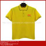 Personalizar o pescoço V de alta qualidade T shirts em várias cores e dimensões, materiais e modelos (P201)