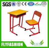 좋은 품질 교실 가구 학생 단 하나 책상 및 의자 (SF-70S)