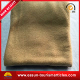 焦茶のオフセット印刷毛布