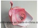 Ployester bordado en 3D Niños impresa la tapa con el panel 5 Gorra de béisbol