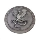 Diseño de Logotipos 3D tienen Moldes de existencias de cobre chapado oro y plata de la moneda Bitcoin promoción