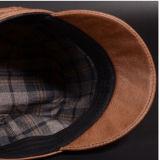 Chapéu da boina do lazer de três cores com logotipo de Customed