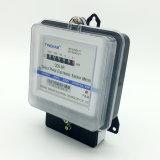 Mètre à deux fils/trifilaire monophasé de Dds-8r de watt-heure avec à base métallique