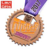 Оптовая торговля дешевые Custom металлические 3D-Award ключ медаль спорта