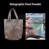 Polvo del pigmento del espejo del cromo del arco iris de Spetraflair del holograma para la pintura del bolso